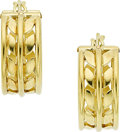 Estate Jewelry:Earrings, Gold Earrings, Temple St. Clair. ...