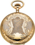 Timepieces:Pocket (pre 1900) , Rare Ball Hunter's Case Official RR Standard 17 Jewel, Circa 1903....