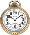 Timepieces:Pocket (post 1900), Illinois 21 Jewel 60 Hour Bunn Special Series 161 Pocket Watch,Circa 1952. ...