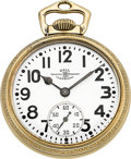 Timepieces:Pocket (post 1900), Ball Official Standard 21 Jewel 992B, Circa 1940's. ...