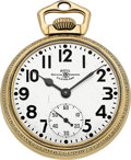Timepieces:Pocket (post 1900), Ball Official Standard 21 Jewel 999B, Circa 1940's. ...