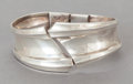 Silver & Vertu:Smalls & Jewelry, AN ANTONIO PINEDA MEXICAN SILVER CUFF . Antonio Pineda, Taxco, Mexico, circa 1953. Marks: (Antonio-crown), STERLING, MEXIC...