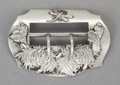 Silver Smalls:Buckles, A GEORGE W. SHIEBLER SILVER BUCKLE . George W. Shiebler & Co.,New York, New York, circa 1880. Marks: (winged S),STERLING...