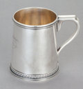 A WILLIAM GALE SILVER CHILD'S CUP FOR TIFFANY & CO. William Gale, New York, New York, circa 1861 Tiffany & Co...