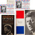 Political:Small Paper (1896-present), John F. Kennedy: Madison Square Garden Birthday Party Program and Tickets.... (Total: 5 Items)