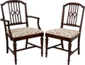 Political:Presidential Relics, White House Furniture: Dining Room Arm and Side Chairs....