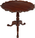 Political:Presidential Relics, White House Furniture: Pie-Crust Chippendale-Style Table....