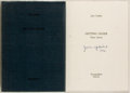Books:Literature 1900-up, John Updike. SIGNED. Getting Older. Helsinki: Eurographica,[1986]. First edition, limited to 350 numbered copies. ...