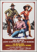 """Movie Posters:Musical, Paint Your Wagon (Paramount, R-1970s). Italian 2 - Fogli (39"""" X 55""""). Musical.. ..."""
