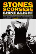"Movie Posters:Rock and Roll, Shine a Light (Paramount, 2008). One Sheet (27"" X 40"") DS Advance.Rock and Roll.. ..."