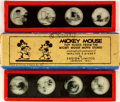 Miscellaneous:Gaming Collectibles, [Walt Disney Studios]. Mickey Mouse Toy Slides from the MickeyMouse Lantern Slide Stories. London: Ensign Limited, [n.d., c...