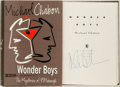 Books:Literature 1900-up, Michael Chabon. SIGNED. Wonder Boys. New York: Villard,1995. First edition, first printing. Signed by the author ...