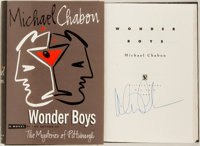 Michael Chabon. SIGNED. Wonder Boys. New York: Villard, 1995. First edition, first printing
