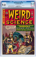 Golden Age (1938-1955):Science Fiction, Weird Science #14 (#3) (EC, 1950) CGC VF/NM 9.0 Cream to off-whitepages....