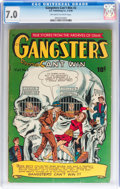 Golden Age (1938-1955):Crime, Gangsters Can't Win #2 (D.S. Publishing, 1948) CGC FN/VF 7.0 Off-white to white pages....