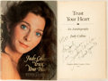 Books:Biography & Memoir, Judy Collins. INSCRIBED. Trust Your Heart. Boston: HoughtonMifflin, [1987]. First edition, first printing. Inscri...