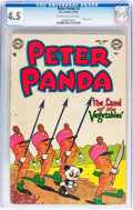 Golden Age (1938-1955):Funny Animal, Peter Panda #5 (DC, 1954) CGC VG+ 4.5 Off-white to white pages....