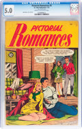 Golden Age (1938-1955):Romance, Pictorial Romances #5 (St. John, 1951) CGC VG/FN 5.0 Cream tooff-white pages....