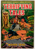 Golden Age (1938-1955):Horror, Terrifying Tales #14 (Star Publications, 1953) Condition: GD/VG....