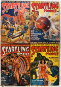 Pulps:Science Fiction, Startling Stories Group (Standard, 1939-50) Condition: AverageGD/VG.... (Total: 17 Items)
