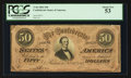 Confederate Notes:1864 Issues, T66 $50 1864 PF-11 Cr. 500.. ...