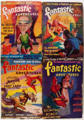 Pulps:Science Fiction, Fantastic Adventures Group (Ziff-Davis, 1940-45) Condition: AverageGD.... (Total: 11 Comic Books)