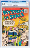 Golden Age (1938-1955):Science Fiction, Mystery in Space #28 (DC, 1955) CGC VF/NM 9.0 Off-white pages....