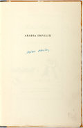 Books:Literature 1900-up, Aldous Huxley. SIGNED. Arabia Infelix and Other Poems. NewYork: The Fountain Press, 1929. First edition, limited to 692...