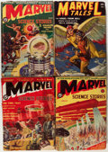 Pulps:Science Fiction, Marvel Science Stories Group (Red Circle, 1938-52) Condition:Average GD.... (Total: 12 Items)
