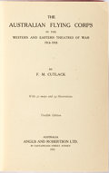 Books:World History, F. M. Cutlack. The Australian Flying Corps in the Western and Eastern Theatres of War 1914-1918. Sydney: Angus a...