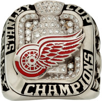 2008 Detroit Red Wings Stanley Cup Championship Ring