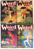 Pulps:Horror, Weird Tales Group (Popular Fiction, 1935-36) Condition: AverageVG.... (Total: 6 Items)