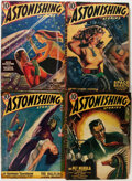Pulps:Science Fiction, Astonishing Stories Group (Fictioneers Inc., 1940-43) Condition:Average VG.... (Total: 15 Items)