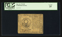 Continental Currency May 10, 1775 $30 PCGS Very Fine 25