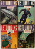 Pulps:Science Fiction, Astounding Stories Group (Street & Smith, 1940-42) Condition:Average VG+.... (Total: 13 Comic Books)