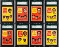 Baseball Cards:Lots, 1962 Topps Baseball League Leaders SGC Graded Collection (8). ...