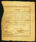 Colonial Notes:Massachusetts, Massachusetts January 27, 1777 £10 Bounty Note Anderson MA-6 VeryFine.. ... (Total: 3 items)