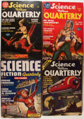 Pulps:Science Fiction, Science Fiction Quarterly Group (Blue Ribbon Magazines, 1941-54)Condition: Average VG.... (Total: 15 Items)