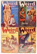 Pulps:Horror, Weird Tales Group (Popular Fiction, 1938-39) Condition: AverageVG.... (Total: 11 Comic Books)