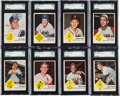 Baseball Cards:Sets, 1963 Fleer Baseball High Grade Complete Set (66) Plus Checklist. ...