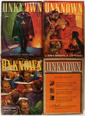 Pulps:Horror, Unknown/Unknown Worlds Group (Street & Smith, 1939-48)Condition: Average VG.... (Total: 23 Items)