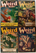 Pulps:Horror, Weird Tales Group (Popular Fiction, 1940-44) Condition: AverageVG.... (Total: 22 Items)