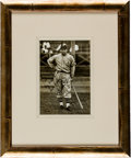 Autographs:Photos, 1934 Jimmie Foxx Signed Tour of Japan Photograph, PSA Mint 9....