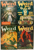 Pulps:Horror, Weird Tales Group (Popular Fiction, 1945-47) Condition: AverageVG+.... (Total: 22 Items)