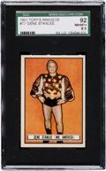 Boxing Cards:General, 1951 Topps Ringside Gene Stanlee #17 SGC 92 NM/MT+ 8.5 - The Ultimate SGC Example! ...