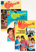Silver Age (1956-1969):Humor, The Monkees File Copy Group (Dell, 1967-68) Condition: Average VF+.... (Total: 9 Comic Books)