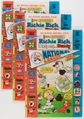 Bronze Age (1970-1979):Cartoon Character, Richie Rich, Casper and Wendy National League #1 File Copy Long BoxGroup (Harvey, 1976) Condition: Average VF/NM....