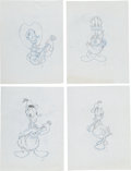 "Animation Art:Production Drawing, Walt Disney's ""Donald Duck Is 60"" Consumer Product OriginalArt Group (1994).... (Total: 20 Items)"