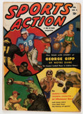 Golden Age (1938-1955):Non-Fiction, Sports Action #2 (Atlas, 1950) Condition: FN/VF....