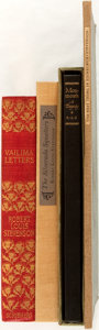 Books:Literature 1900-up, Robert Louis Stevenson. Group of Four Books. Various publishers,[1897-1952]. Publisher's bindings (one rebound). Octavo and...(Total: 4 Items)